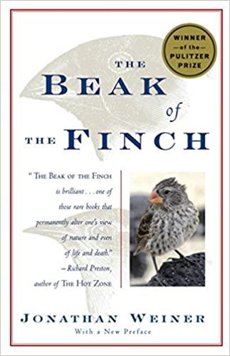 Jonathan Weiner - The Beak of the Finch Audio Book Free