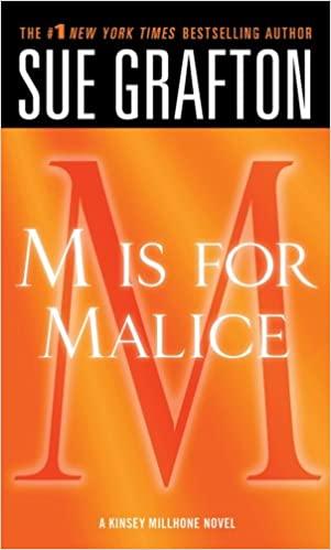"Sue Grafton - ""M"" is for Malice Audio Book Free"