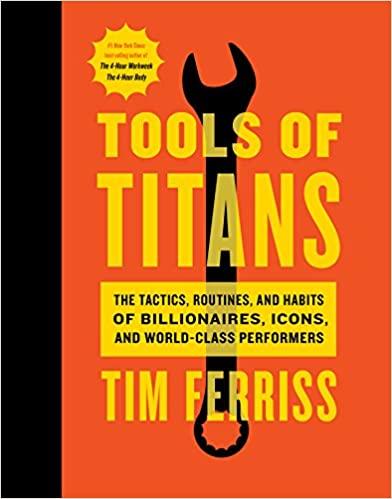 Timothy Ferriss - Tools of Titans Audio Book Stream