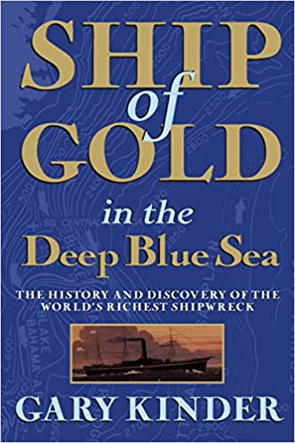 Gary Kinder - Ship of Gold in the Deep Blue Sea Audio Book Stream