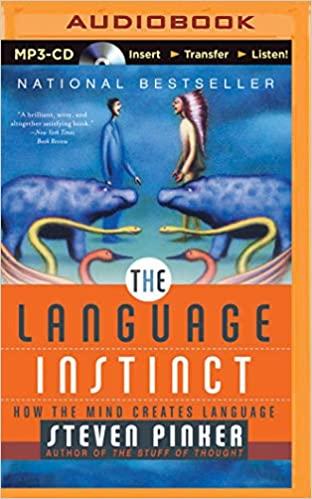 Steven Pinker - Language Instinct, The Audio Book Free