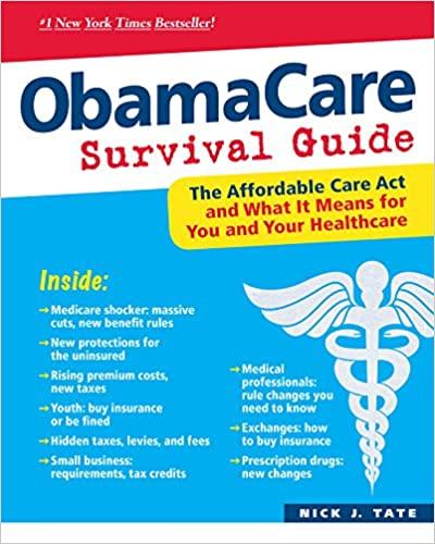 Nick J. Tate - ObamaCare Survival Guide Audio Book Free