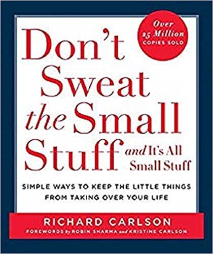 Richard Carlson - Don't Sweat the Small Stuff and It's All Small Stuff Audio Book Free