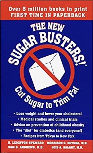 H. Leighton Steward - The New Sugar Busters! Cut Sugar to Trim Fat Audio Book Free