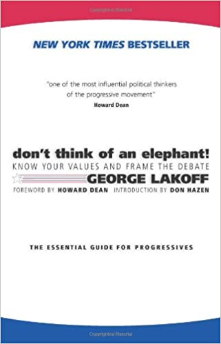 George Lakoff - Don't Think of an Elephant! Audio Book Free