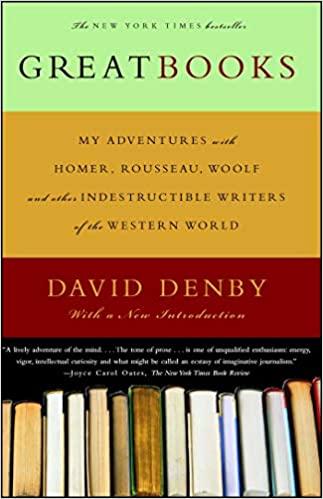 David Denby - GREAT BOOKS Audio Book Free