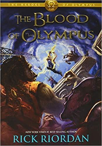 Rick Riordan - The Heroes of Olympus, Book Five The Blood of Olympus Audio Book Free