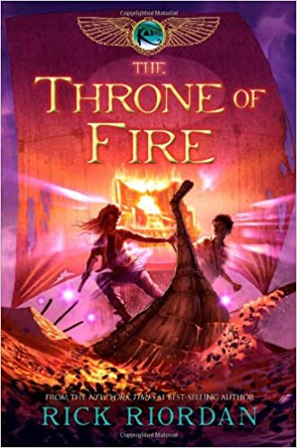 Rick Riordan - The Throne of Fire Audio Book Free