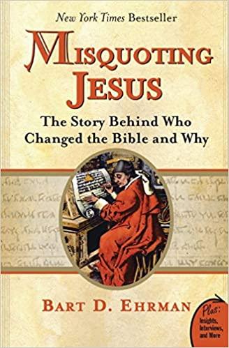 Bart D. Ehrman - Misquoting Jesus Audio Book Free