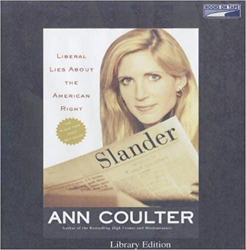 Ann Coulter - Slander Audio Book Free