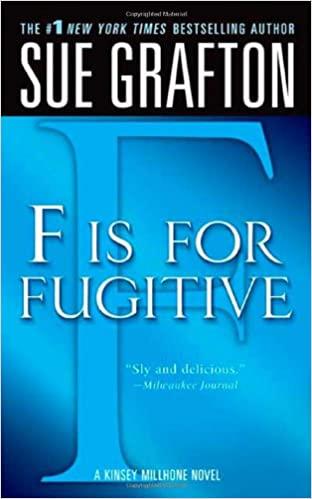 "Sue Grafton - ""F"" is for Fugitive Audio Book Stream"