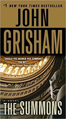 John Grisham - The Summons Audio Book Stream