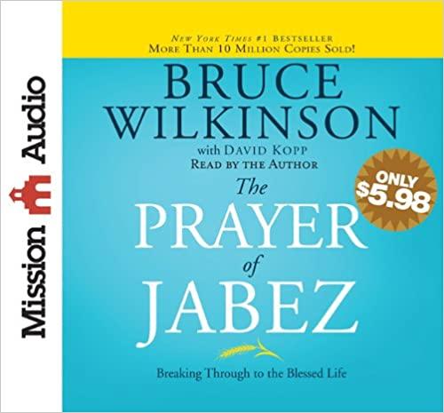 Bruce Wilkinson - The Prayer of Jabez Audio Book Free