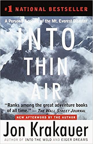 Jon Krakauer - Into Thin Air Audio Book Free