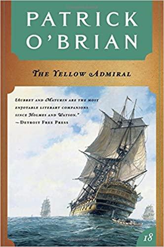 Patrick O'Brian - The Yellow Admiral Audio Book Free