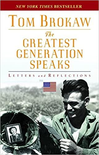 Tom Brokaw - The Greatest Generation Speaks Audio Book Free